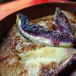 Spiced Fig and Quince Flaugnarde