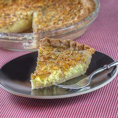 Almond Buttermilk Pie