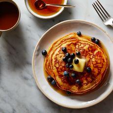 Fluffy Multigrain Pancakes