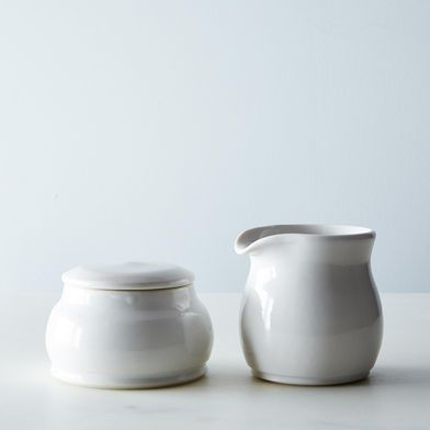 Porcelain Sugar & Creamer Set