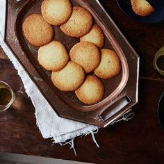 The Thinnest, Crispy-Crunchiest Holiday Cookie: Spanish Butter Wafers