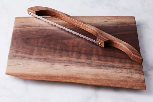 Handcrafted Wood Bread Bow & Bread Board