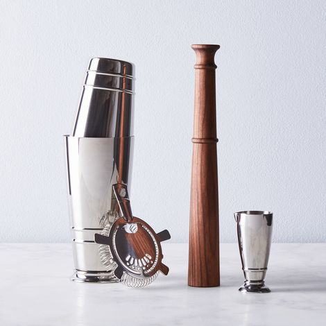 Stainless Steel 4-Piece Cocktail Set