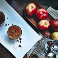 Apple Whiskey Cider   Slow Cooked