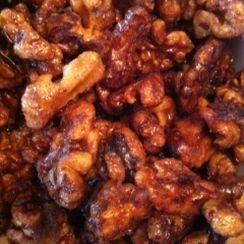 Coconut Sugar Glazed Nuts