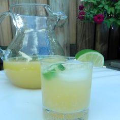 Jalapeno tequila margarita