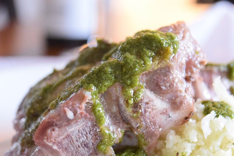Lamb Chop Chimichurri
