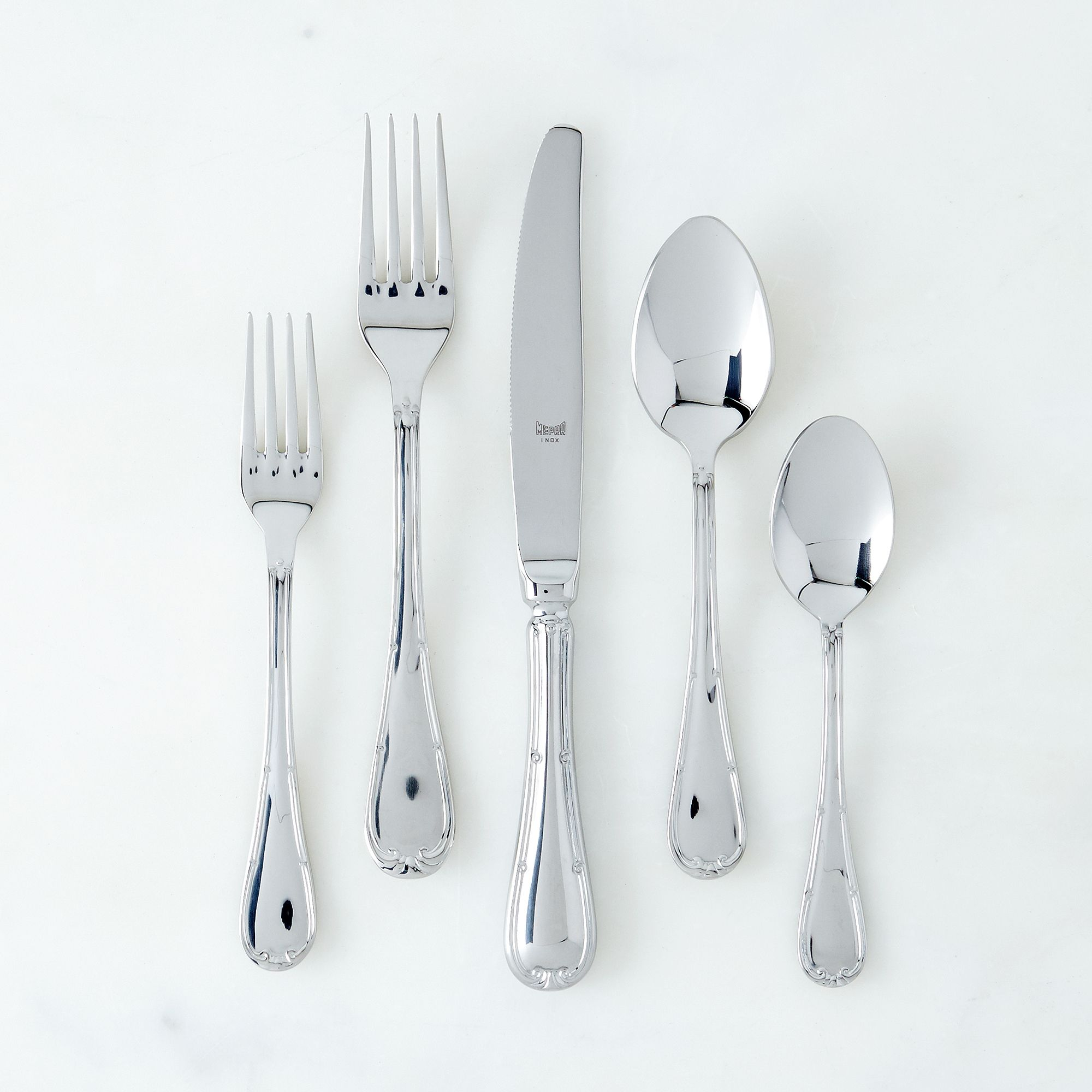 Italian Flatware, Raffaelo Ss Shine (5-piece Flatware Place Setting)