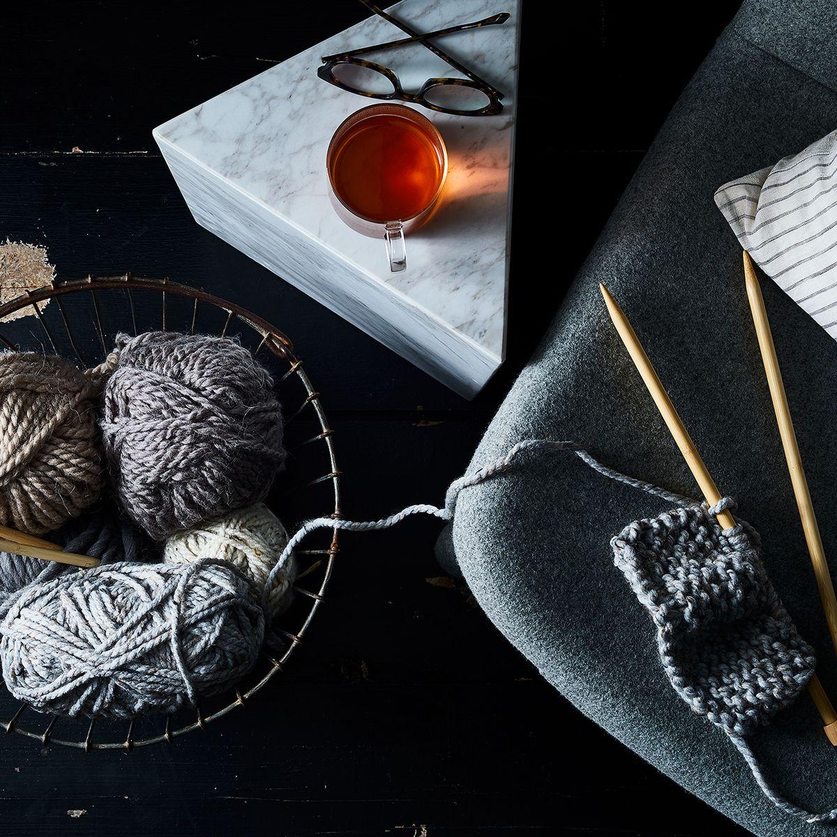 I M Knitting My Way To My Happy Place