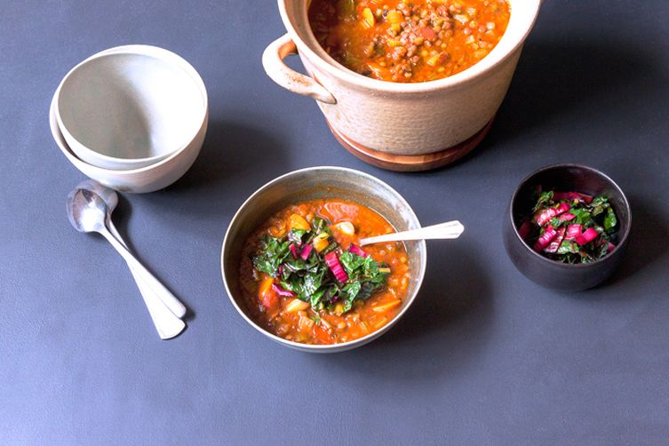 Fiery Mexican Lentil Soup