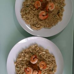 Coffee Seafood Risotto