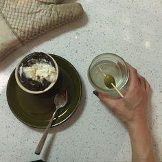 On Hand Chocolate Souffle