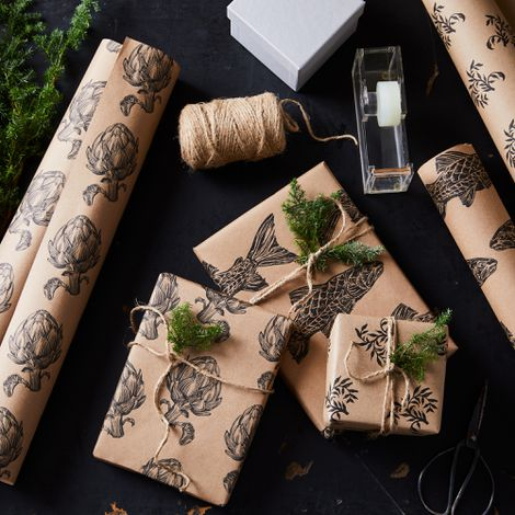 Food52 x Hester & Cook Kraft Paper Gift Wrap