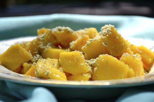 Mango Salad with Lime and Pepitas