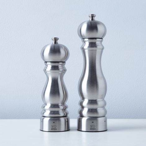 Peugeot Paris Chef USelect Stainless Steel Pepper & Salt Mills
