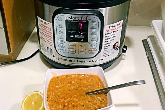 Instant Pot Ezo Gelin Soup