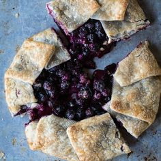 Lemon Blueberry Galette