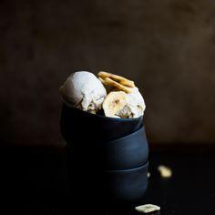 Vegan Roasted Banana Ice Cream