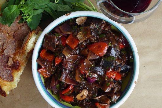 Spicy Eggplant Caponata
