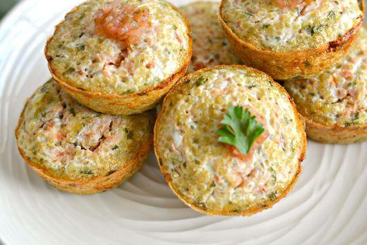 Quinoa Salsa Egg Muffins