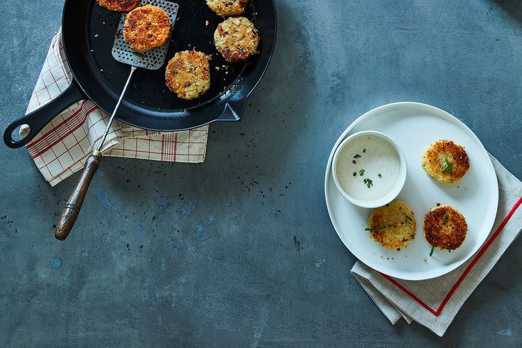 Thanksgiving Leftover Potato Fritters