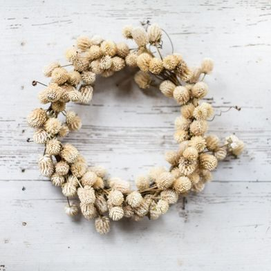 A Dried DIY Wreath That Will Last All Winter (& Beyond)