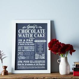 Custom Recipe Print