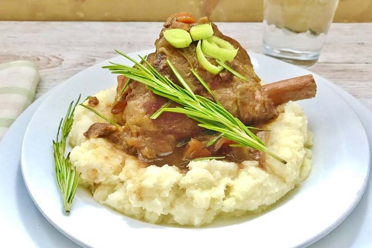 The Best Lamb Shank Recipe… Ever!