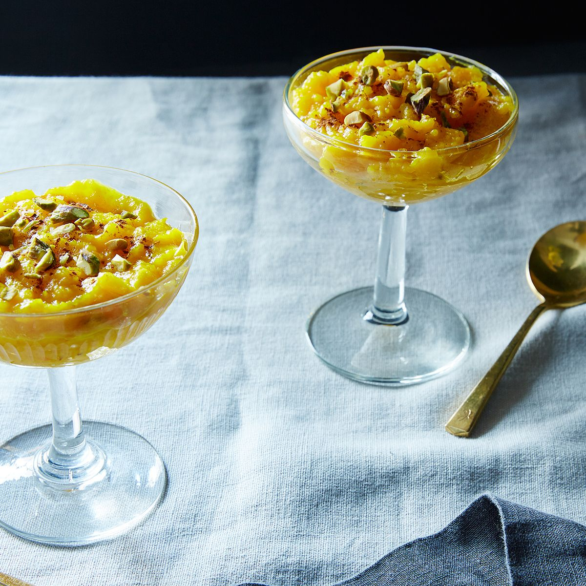 Saffron-Infused Rice Pudding (Sholeh Zard), in the Persian Manner ...