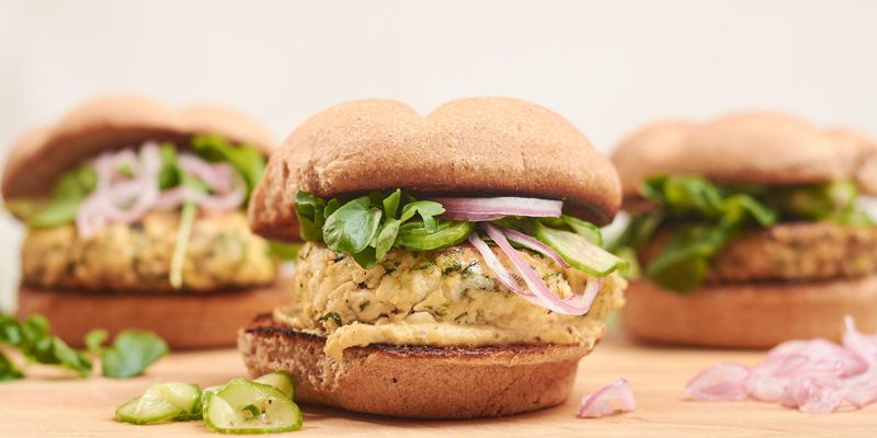 Finally, tofu burgers that do tofu justice
