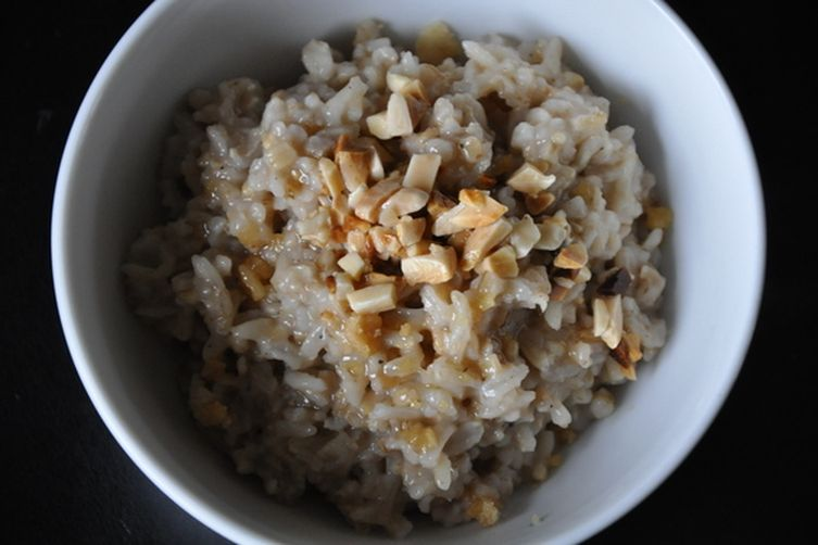 Sweet and Savory Porridge with Almonds and Cardamom