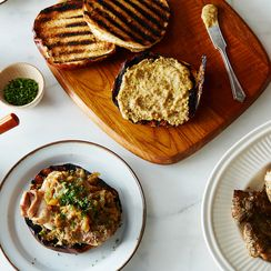 German-Style Chicken Sandwich with Beer-Braised Caramelized Onions