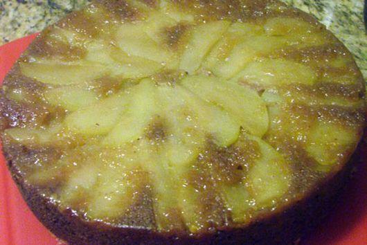 Apple Spiral Cardamom Coffee Cake