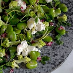 broad bean summer salad