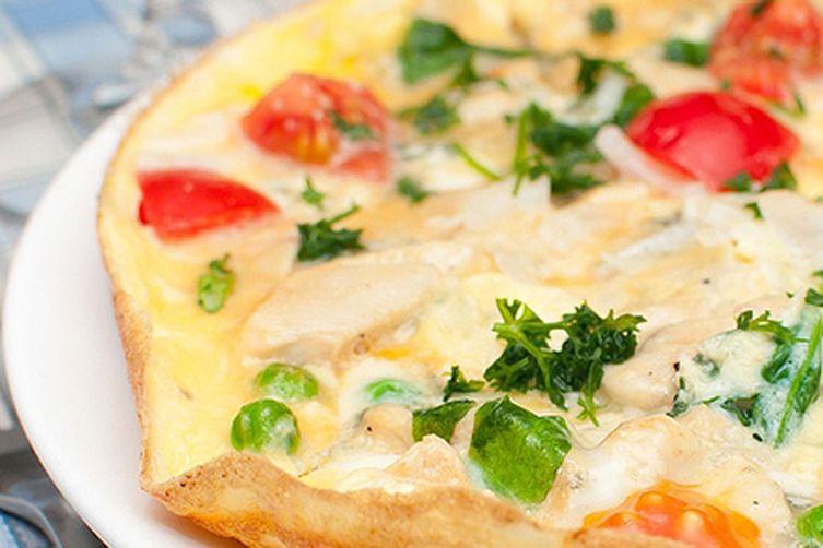 Vegetable Masala Omelet