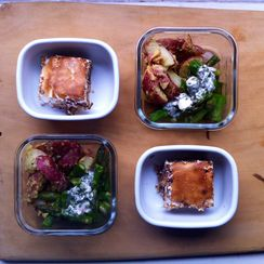 Potato Salad and S'mores