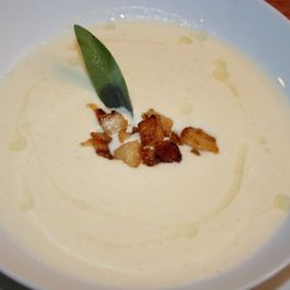 Outstanding Celeriac Soup with White Truffle Oil