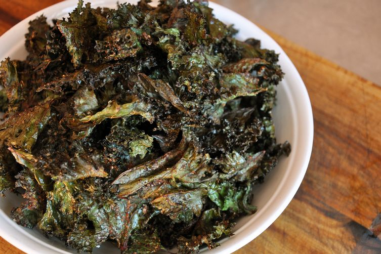 BBQ Kale Chips