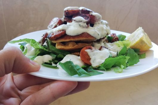 Healthy Savory Pancakes