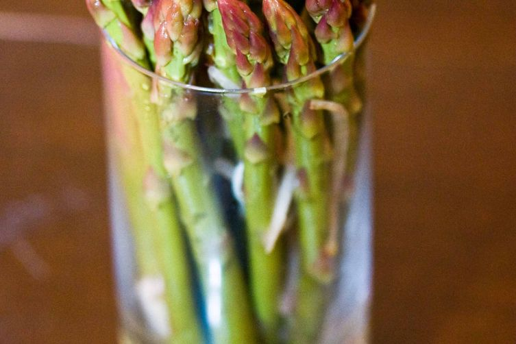 Smoky Pickled Asparagus