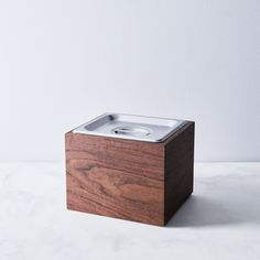Noaway Countertop Wood Compost Bin
