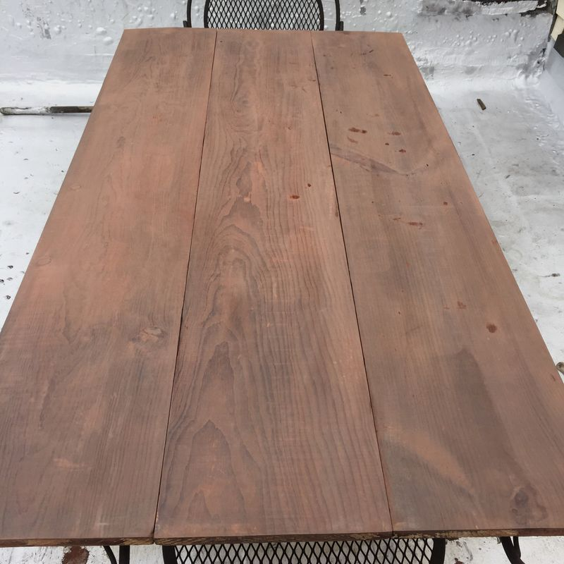 diy home improvement how to stain wood with vinegar and steel wool