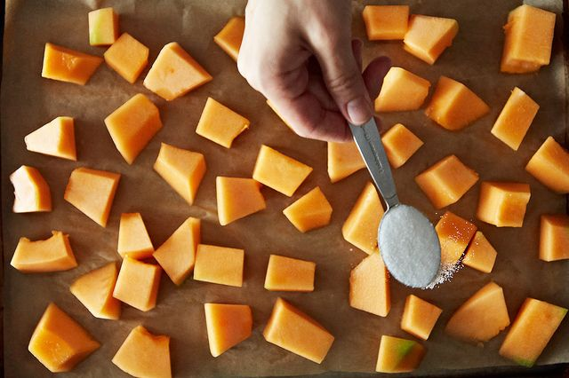 Roasted Cantaloupe from Food52