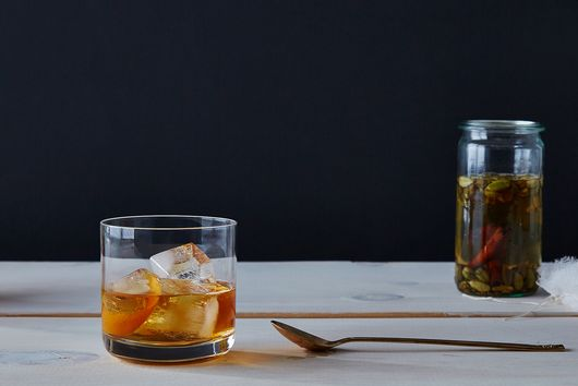 Maple-Cardamom Old Fashioned