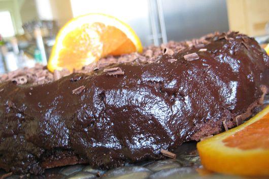 Flourless Chocolate Cake w/ Grand Marnier