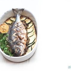SEA BREAM & ZUCCHINI