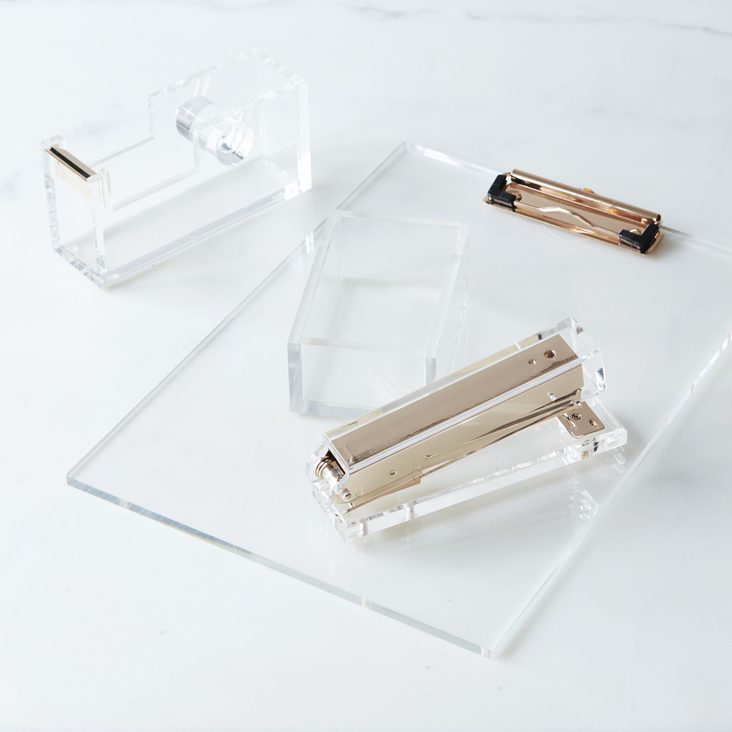 acrylic home office accessories on food52