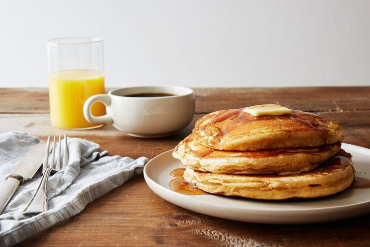 "Rosa Parks' ""Featherlite"" Peanut Butter Pancakes Recipe on Food52"