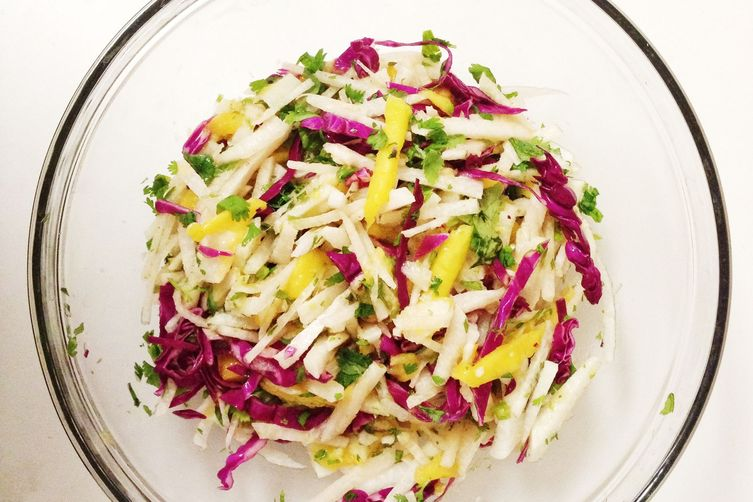 Jicama and Mango Salad