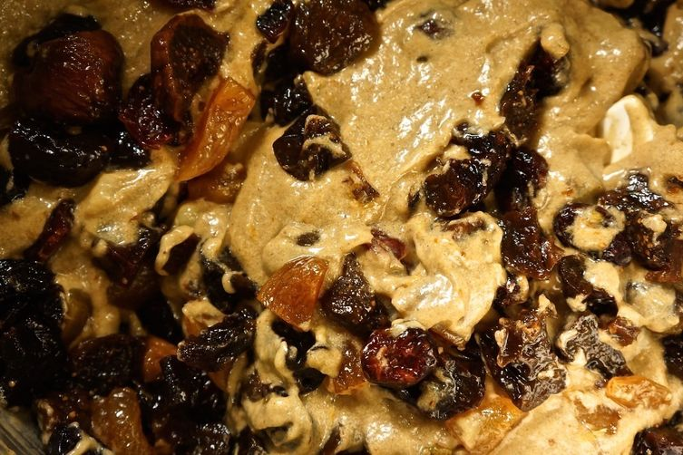 Banana, Bourbon Fruitcake